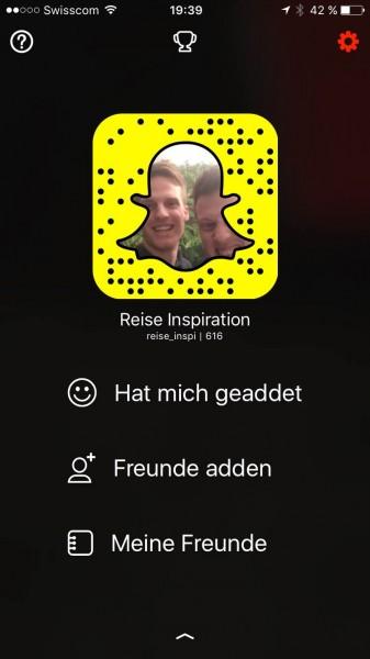 Snapchat Kontakte Adden